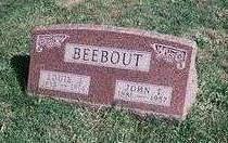 BEEBOUT, LOUIE JEMIMA - Marion County, Iowa | LOUIE JEMIMA BEEBOUT