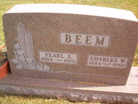 BEEM, PEARL S - Marion County, Iowa   PEARL S BEEM