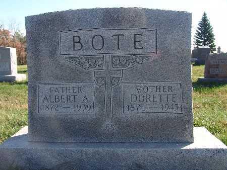 BOTE, DORETTE - Marion County, Iowa   DORETTE BOTE