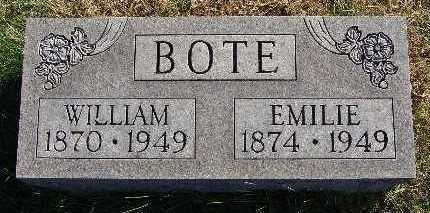 BOTE, EMILIE - Marion County, Iowa | EMILIE BOTE