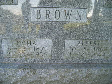 BROWN, EMMA - Marion County, Iowa | EMMA BROWN