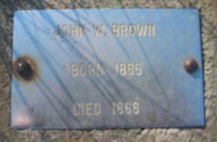 BROWN, JOHN - Marion County, Iowa   JOHN BROWN