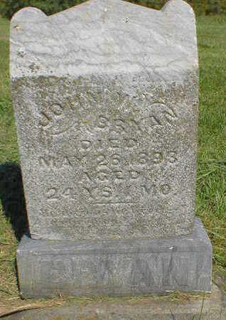 BRYAN, JOHN W. - Marion County, Iowa   JOHN W. BRYAN