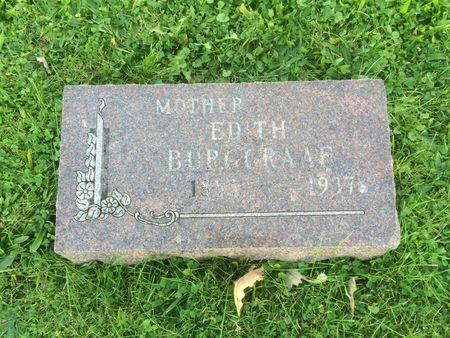 BURGGRAAF, EDITH - Marion County, Iowa | EDITH BURGGRAAF