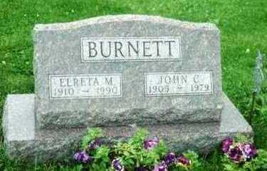 BURNETT, ELRETA M. - Marion County, Iowa | ELRETA M. BURNETT