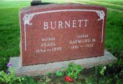 BURNETT, PEARL - Marion County, Iowa | PEARL BURNETT
