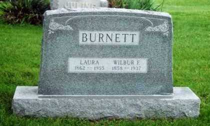 BURNETT, WILBUR F. - Marion County, Iowa | WILBUR F. BURNETT