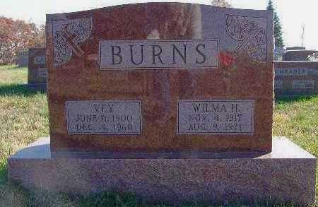 BURNS, WILMA H. - Marion County, Iowa | WILMA H. BURNS