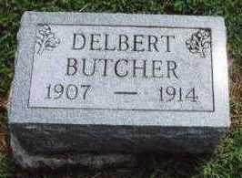 BUTCHER, DELBERT - Marion County, Iowa | DELBERT BUTCHER
