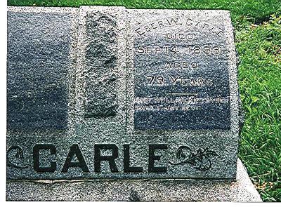CARLE, EBER - Marion County, Iowa | EBER CARLE