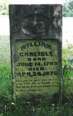 CARLISLE, WILLIAM - Marion County, Iowa | WILLIAM CARLISLE