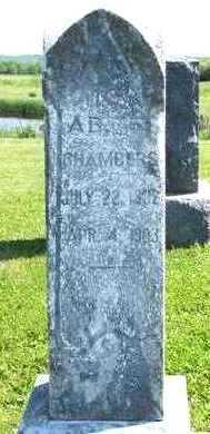CHAMBERS, AB - Marion County, Iowa | AB CHAMBERS
