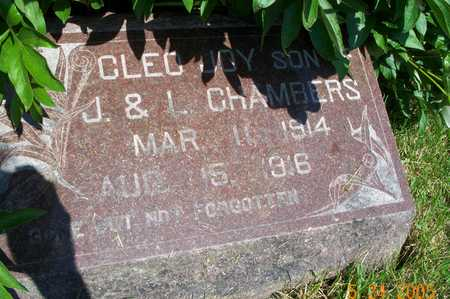 CHAMBERS, CLEO JOY - Marion County, Iowa | CLEO JOY CHAMBERS