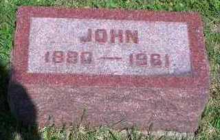 CHAMBERS, JOHN - Marion County, Iowa   JOHN CHAMBERS