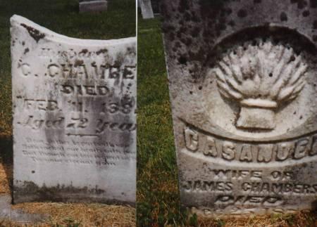 CHAMBERS, JAMES AND CASANDER/CASSANDRA PACK - Marion County, Iowa | JAMES AND CASANDER/CASSANDRA PACK CHAMBERS