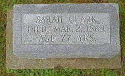 CLARK, SARAH - Marion County, Iowa | SARAH CLARK