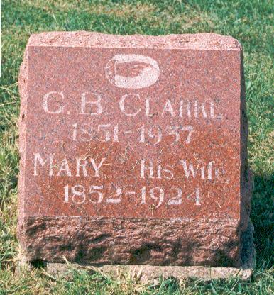 CLARKE, MARY - Marion County, Iowa | MARY CLARKE