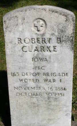 CLARKE, ROBERT B - Marion County, Iowa | ROBERT B CLARKE
