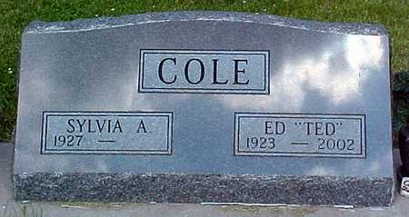 COLE, ED (TED) - Marion County, Iowa | ED (TED) COLE