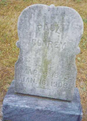CONREY, PAUL - Marion County, Iowa   PAUL CONREY