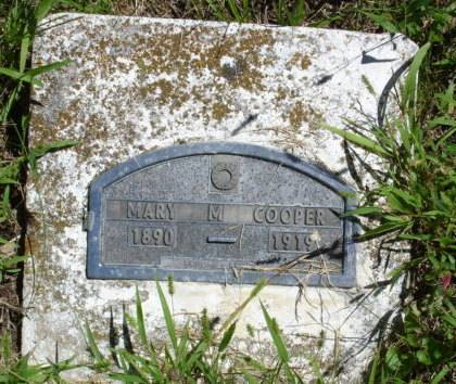 COOPER, MARY M. - Marion County, Iowa | MARY M. COOPER