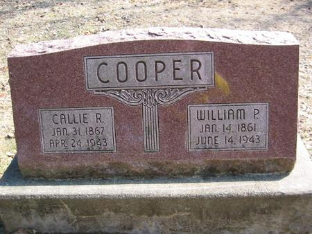 COOPER, WILLIAM P. - Marion County, Iowa | WILLIAM P. COOPER