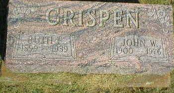 CRISPEN, RUTH F. - Marion County, Iowa | RUTH F. CRISPEN