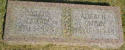 CROSBY, ALBERT H. - Marion County, Iowa | ALBERT H. CROSBY