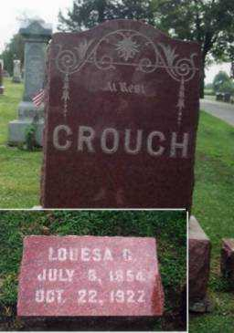 SMITH CROUCH, LOUESA OR LOUISA C. - Marion County, Iowa | LOUESA OR LOUISA C. SMITH CROUCH
