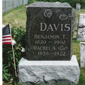 DAVIS, BENJAMIN T - Marion County, Iowa | BENJAMIN T DAVIS
