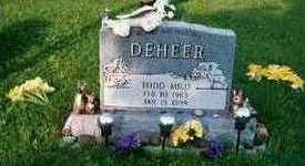 DEHEER, TODD MILO - Marion County, Iowa   TODD MILO DEHEER