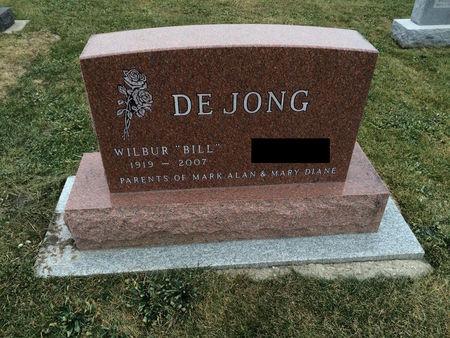 DE JONG, WILBUR (BILL) - Marion County, Iowa | WILBUR (BILL) DE JONG