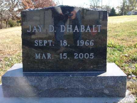 DHABALT, JAY D. - Marion County, Iowa | JAY D. DHABALT