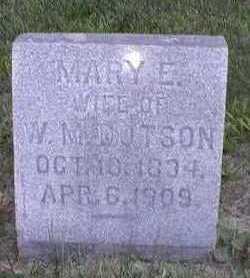 MUSE DOTSON, MARY ELIZABETH - Marion County, Iowa | MARY ELIZABETH MUSE DOTSON