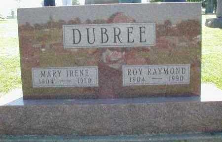 DOTSON DUBREE, MARY IRENE - Marion County, Iowa | MARY IRENE DOTSON DUBREE