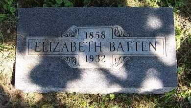 BATTEN, ELIZABETH BUZZARD - Marion County, Iowa | ELIZABETH BUZZARD BATTEN
