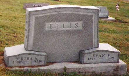 ELLIS, EVAN F - Marion County, Iowa | EVAN F ELLIS
