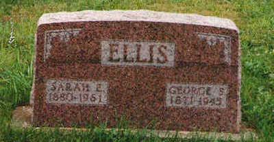 SNYDER ELLIS, SARAH ELLEN - Marion County, Iowa | SARAH ELLEN SNYDER ELLIS