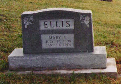 ELLIS, MARY PEARL - Marion County, Iowa | MARY PEARL ELLIS
