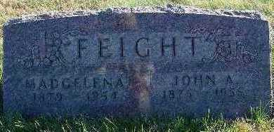 FEIGHT, JOHN A. - Marion County, Iowa | JOHN A. FEIGHT