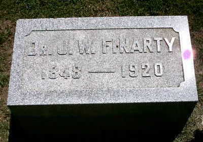 FINARTY, J. W. - Marion County, Iowa | J. W. FINARTY