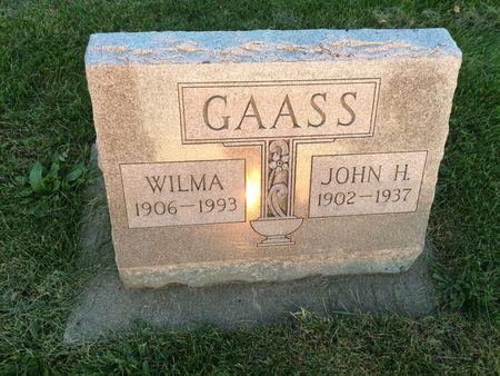 GAASS, WILMA - Marion County, Iowa | WILMA GAASS