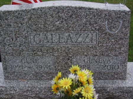 GALEAZZI, GENE - Marion County, Iowa   GENE GALEAZZI