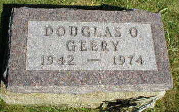 GEERY, DOUGLAS O. - Marion County, Iowa | DOUGLAS O. GEERY