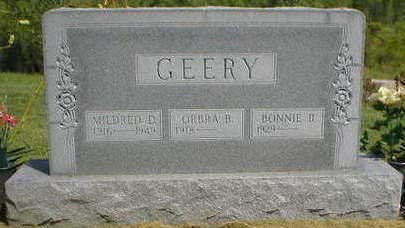 GEERY, MILDRED D. - Marion County, Iowa | MILDRED D. GEERY