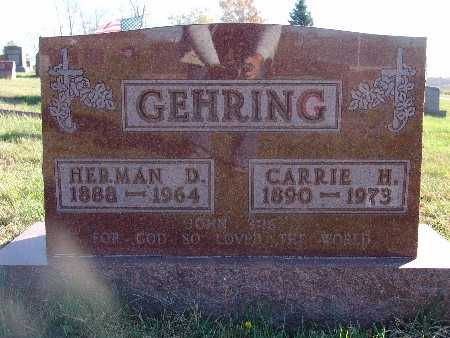 GEHRING, CARRIE H. - Marion County, Iowa | CARRIE H. GEHRING
