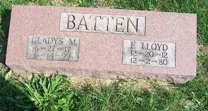 BATTEN, F. LLOYD - Marion County, Iowa | F. LLOYD BATTEN