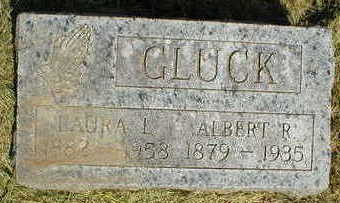 GLUCK, ALBERT R. - Marion County, Iowa | ALBERT R. GLUCK