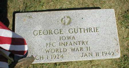 GUTHRIE, GEORGE - Marion County, Iowa | GEORGE GUTHRIE