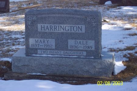 FRY HARRINGTON, MARY - Marion County, Iowa | MARY FRY HARRINGTON